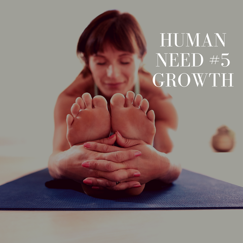 Human Need #5 – Growth