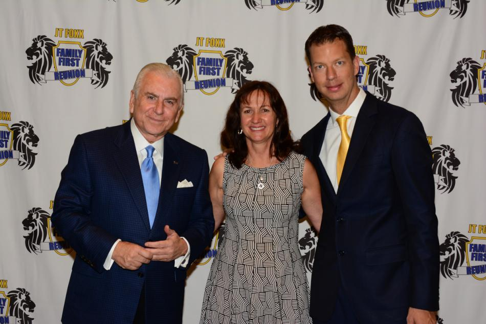Nido Qubein, Tracy Scott and JT Foxx