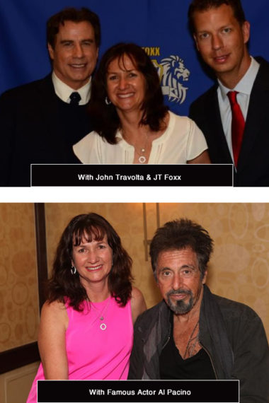 With John Travolta, Al Pacino and JT Foxx